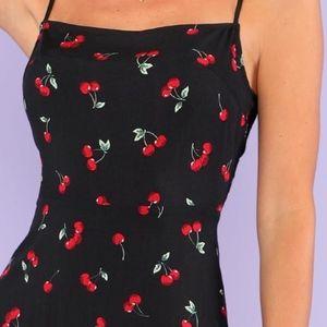 Dresses - Cherry summer dress